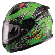 GM49Y Alien Youth Full Face Helmet