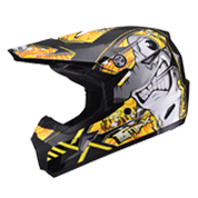 MX46 Sharked Youth MX Helmet